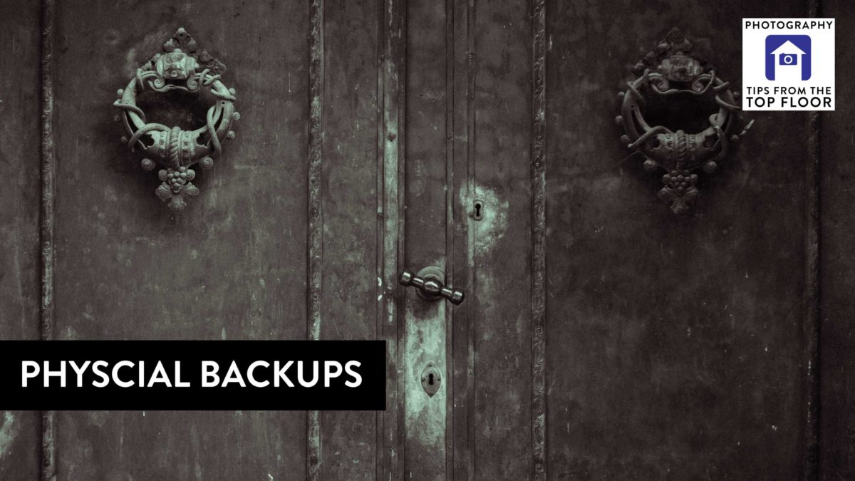 781 Physical Backups