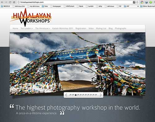 Announcement: Everest Trek is now Himalayan Workshops